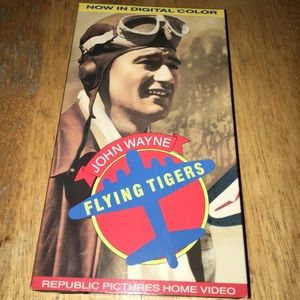 Other - John Wayne flying tigers vhs